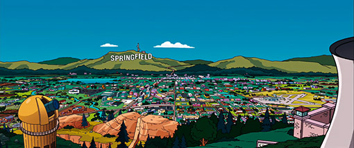 Springfield is in Oregon!!!