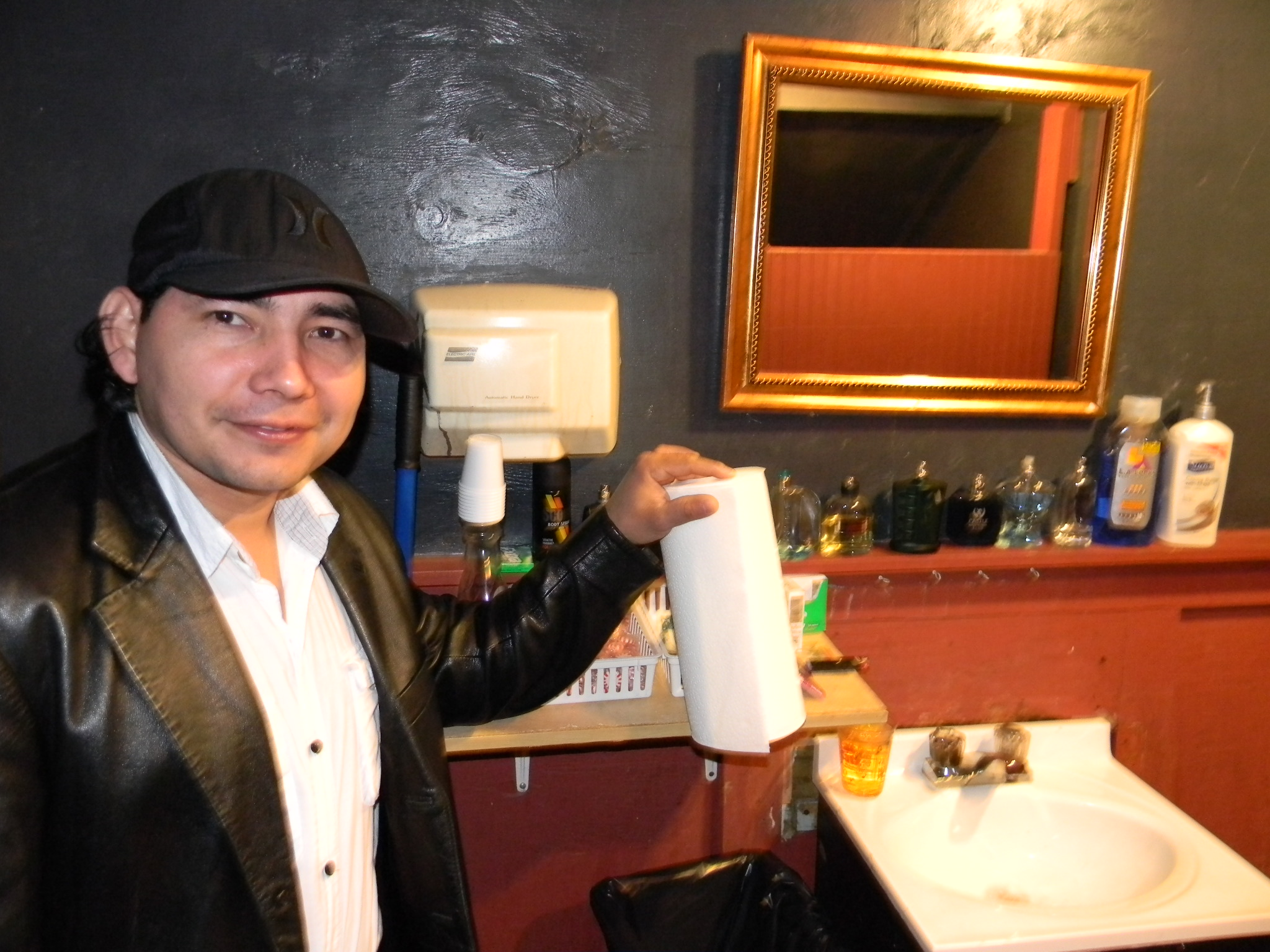 There was the same number of bathroom attendants as their was toilets in this bar   1. New Orleans Extras         pricelesshotdog